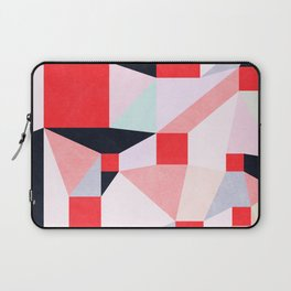 Red Squares Laptop Sleeve