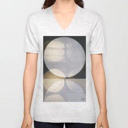 Light Patterns Unisex V-Neck