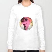 dessert Long Sleeve T-shirts featuring DESSERT RAIN by d.ts