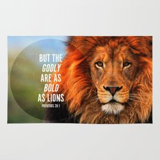 BOLD AS LIONS Rug