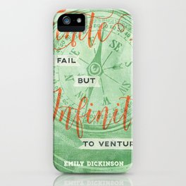 Infinite—to venture iPhone Case