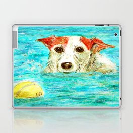 Jack Russell Terrier Laptop & iPad Skin