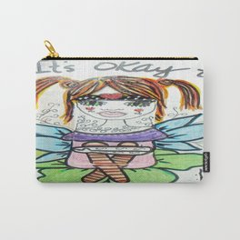 It's Okay to Be Different Carry-All Pouch