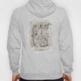Abstract Painting Grayscape Hoody