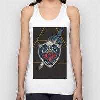 agents of shield Tank Tops featuring Shield  by Jennifer Dillon