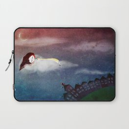 Living in the clouds Laptop Sleeve