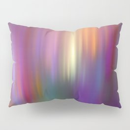 Trendy abstract with light effects Pillow Sham