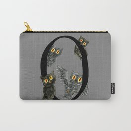 O is for Owls Carry-All Pouch