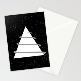 Abstraction 021 - Minimal Geometric Triangle Stationery Cards