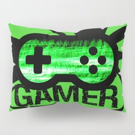 Gamer Green V2 Pillow Sham