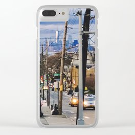 Victory Boulevard Clear iPhone Case