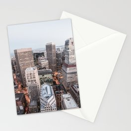 Big City Skyscrapers Stationery Cards