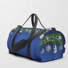 Christmas shopwindow Duffle Bag