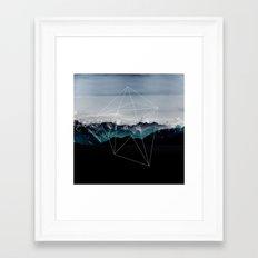 Mountains II Framed Art Print