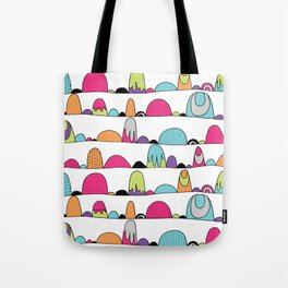 Mid Century Patterns and Illustration Tote Bag