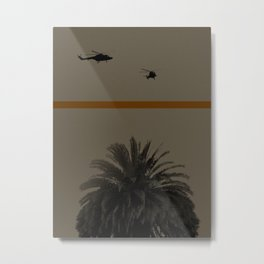 Palmtree Metal Print