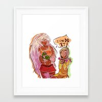 workout Framed Art Prints featuring Workout by RADicles
