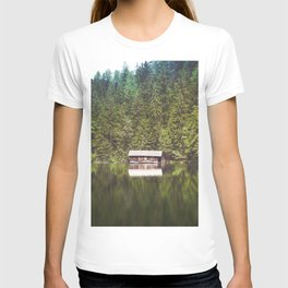 Cottage in the Forest (Color) T-shirt