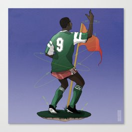 !Celebration! - Roger Milla Canvas Print