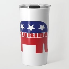 Florida Republican Elephant Travel Mug