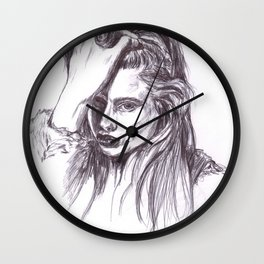 Abbey Lee Wall Clock