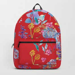 Fridas Flowers Backpack