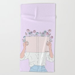 Read All About It Beach Towel