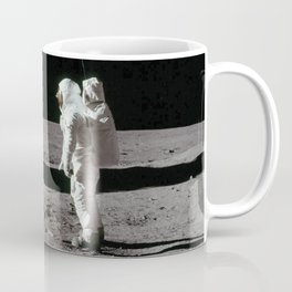 British Flag on the Moon Coffee Mug