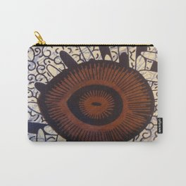 Tanzanian Fabric Carry-All Pouch