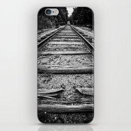 Old Train Tracks iPhone Skin
