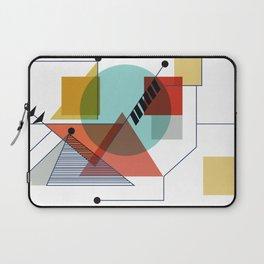 Bauhaus Kandinsky Modern Art Laptop Sleeve