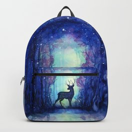 Reindeer in Magical Forest Backpack
