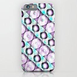 Horizontal Shadow Geometrics Lavender iPhone Case