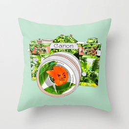 BOTANICANON Throw Pillow