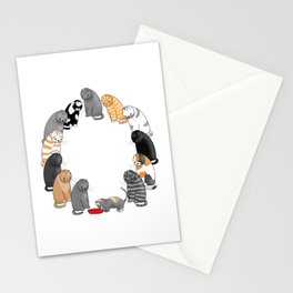 A Cat's Patience Stationery Cards