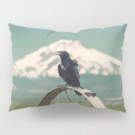 Mt. Jefferson Raven Pillow Sham