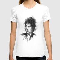 bob dylan T-shirts featuring Bob Dylan by Nour Shalabi