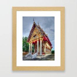 Old Thai Temple Framed Art Print