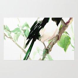 Magpie Bird, magpie Rug