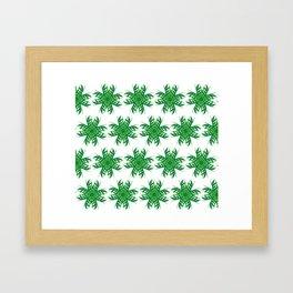 Forest evergreen Framed Art Print