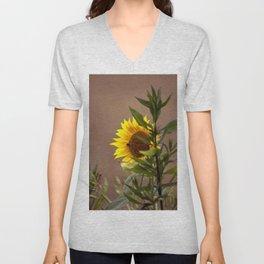 The sunflower Unisex V-Neck