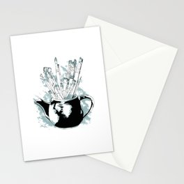 Happiness in a Teapot Stationery Cards
