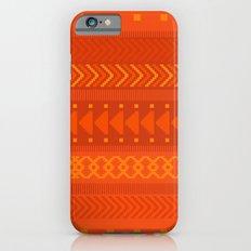 Lava - tribal geometrics Slim Case iPhone 6s