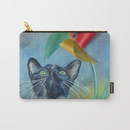 Pinwheel Kitty Carry-All Pouch