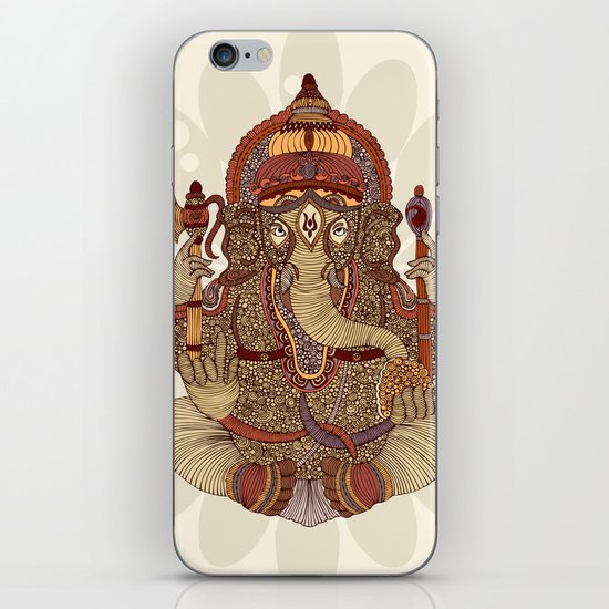 Ganesha: Lord of Success iPhone & iPod Skin