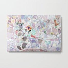 Mosaic of Barcelona V Metal Print