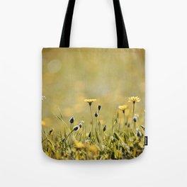 Yellow Wildflowers in the Sun Tote Bag