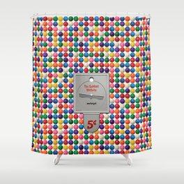 The Gumball Machine Shower Curtain