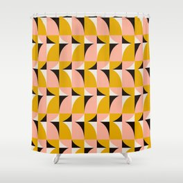 Modern Geometric_001 Shower Curtain