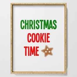 Christmas Cookie Time Merry Christmas Serving Tray